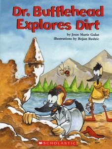 Book Cover: Dr. Bufflehead Explores Dirt