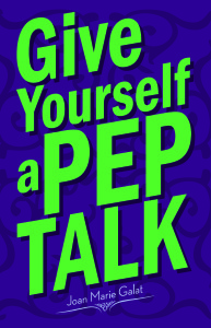 Book Cover: Give Yourself a Pep Talk