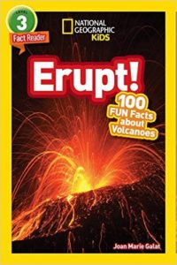 Book Cover: Erupt! 100 Fun Facts About Volcanoes